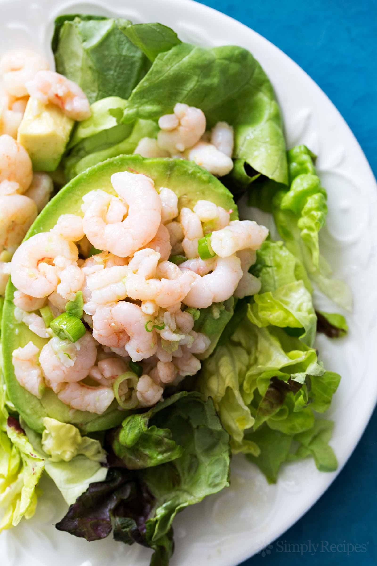 Recipe For Shrimp Salad  Bay Shrimp and Avocado Salad Recipe