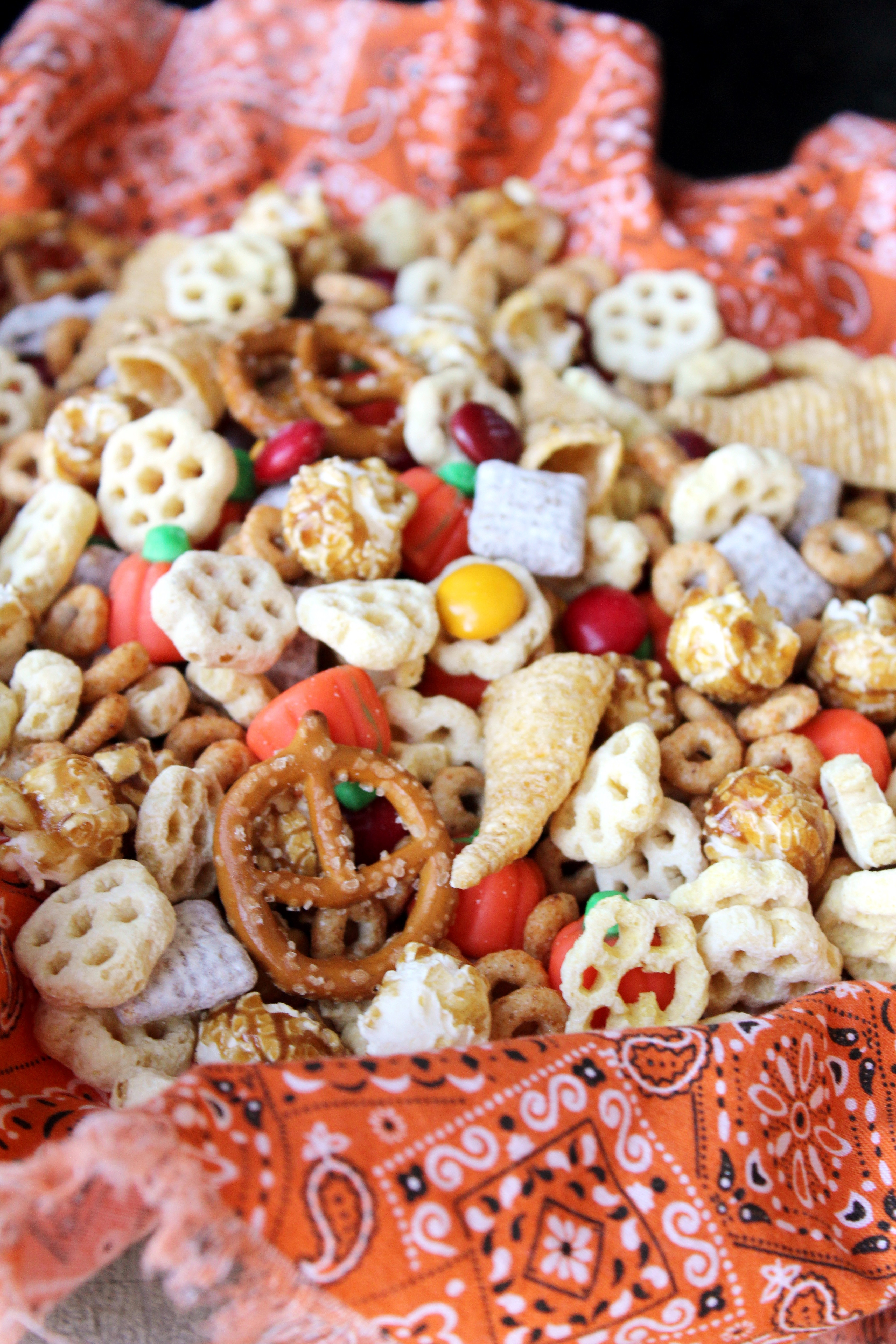 Recipe For Snacks Halloween Snack Mix addicted to recipes
