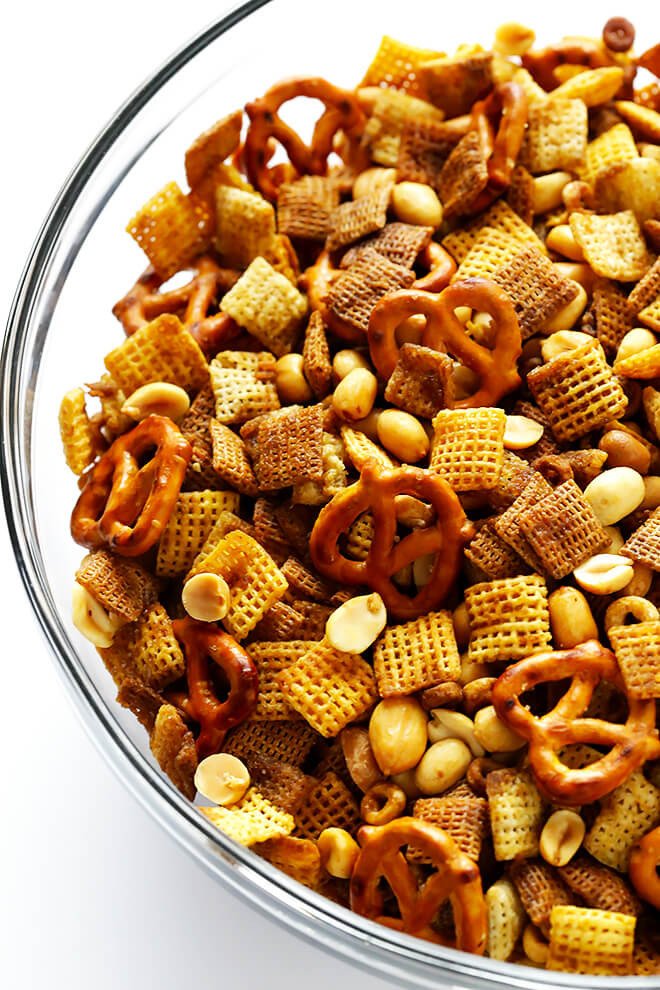 Recipe For Snacks Extra Bold Chex Mix