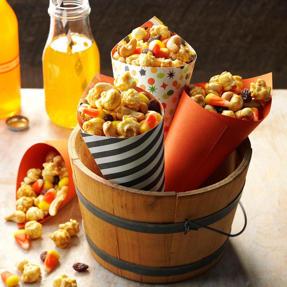Recipe For Snacks Halloween Snack Mix Recipe