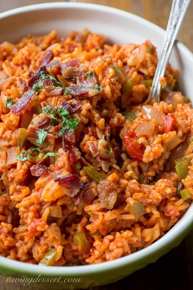 Recipe For Spanish Rice  Easy Spanish Rice Recipe Saving Room for Dessert