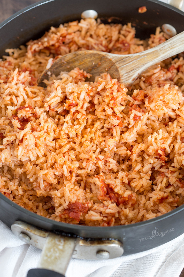 Recipe For Spanish Rice  mexican rice without tomato sauce