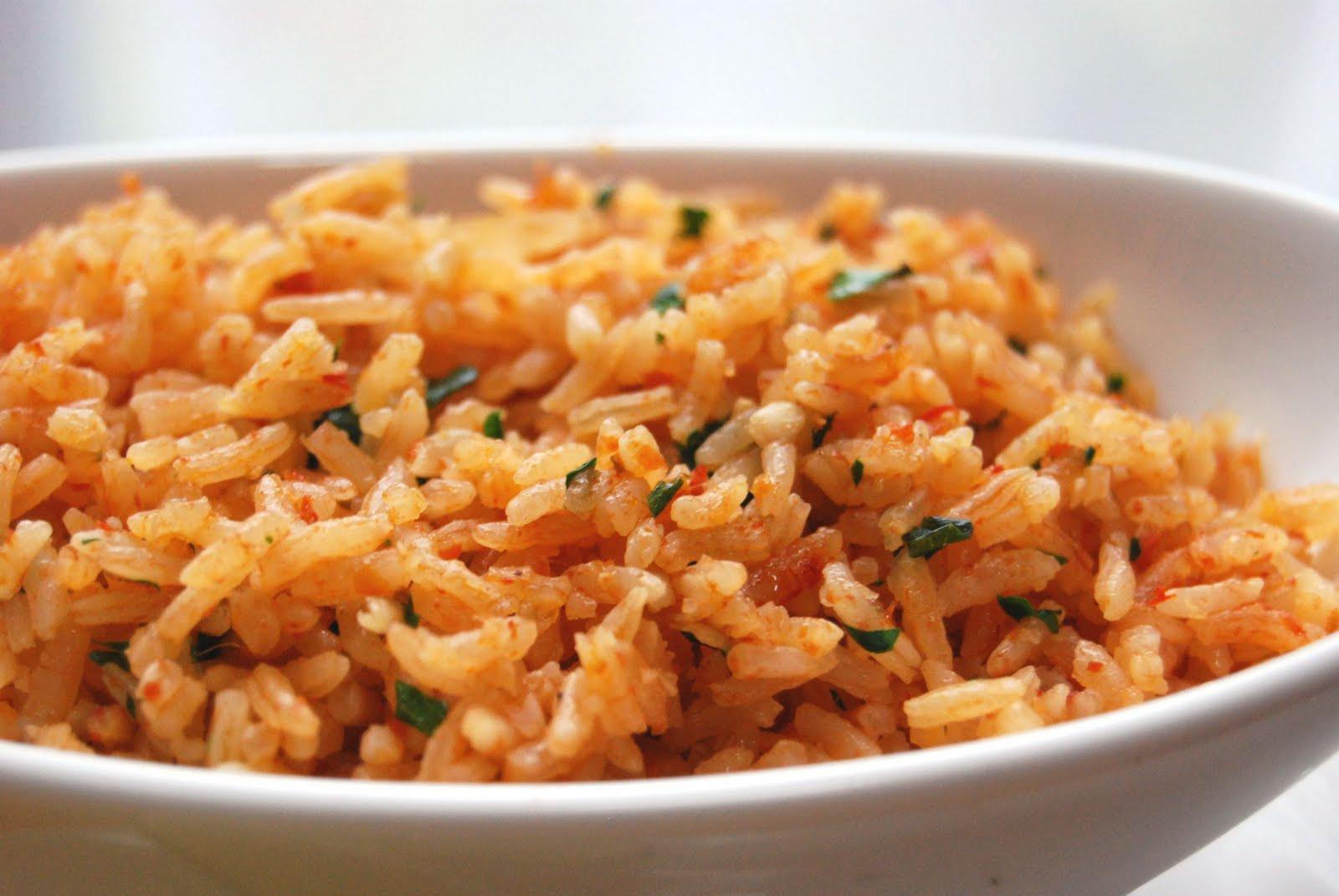 Recipe For Spanish Rice  Recipes Pork Carnitas Spanish Rice & The Best Beans