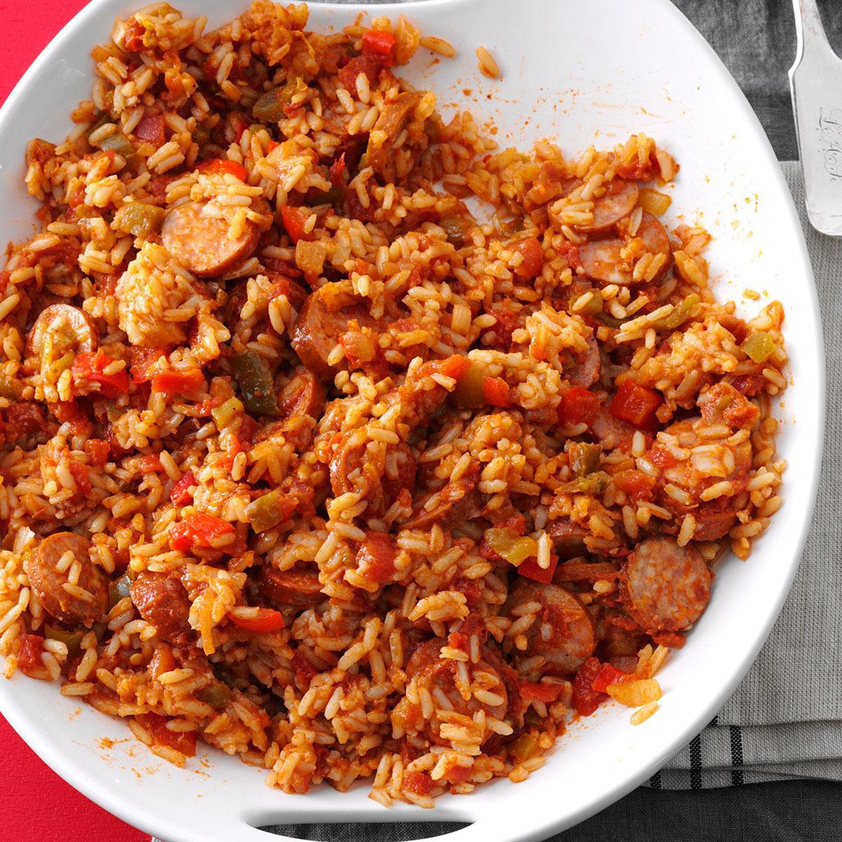 Recipe For Spanish Rice  Sausage Spanish Rice Recipe