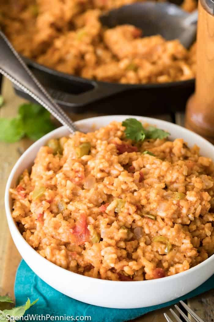 Recipe For Spanish Rice  Spanish Rice Spend With Pennies