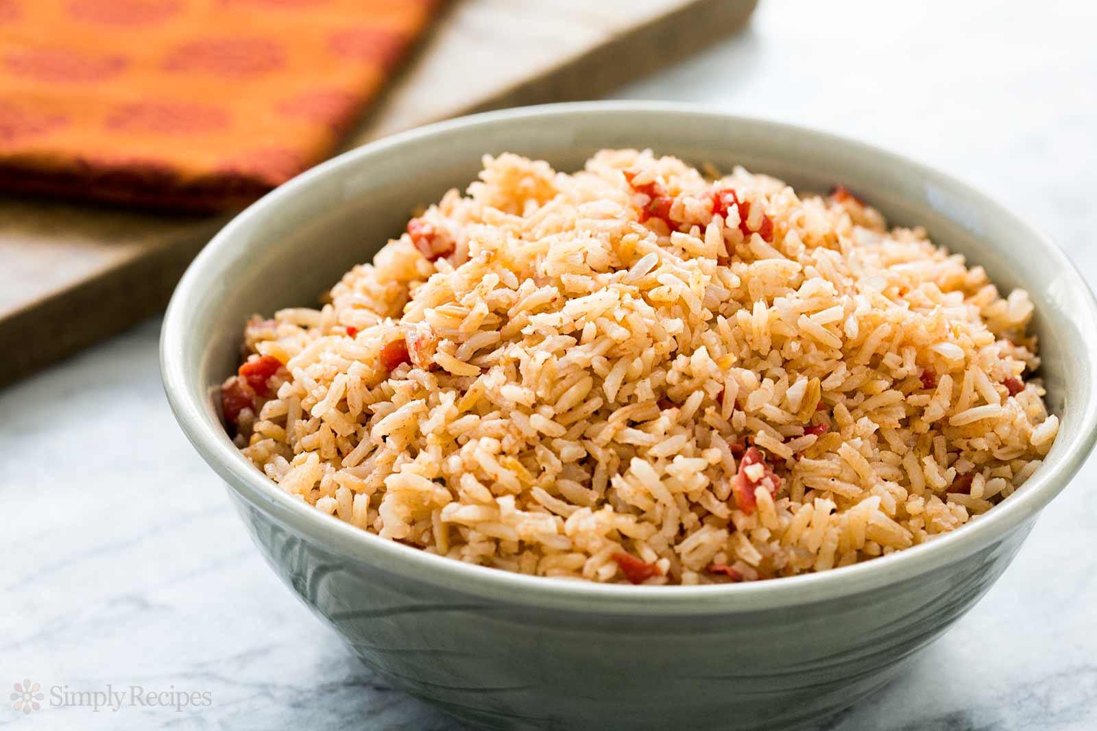 Recipe For Spanish Rice  Spanish Rice Recipe