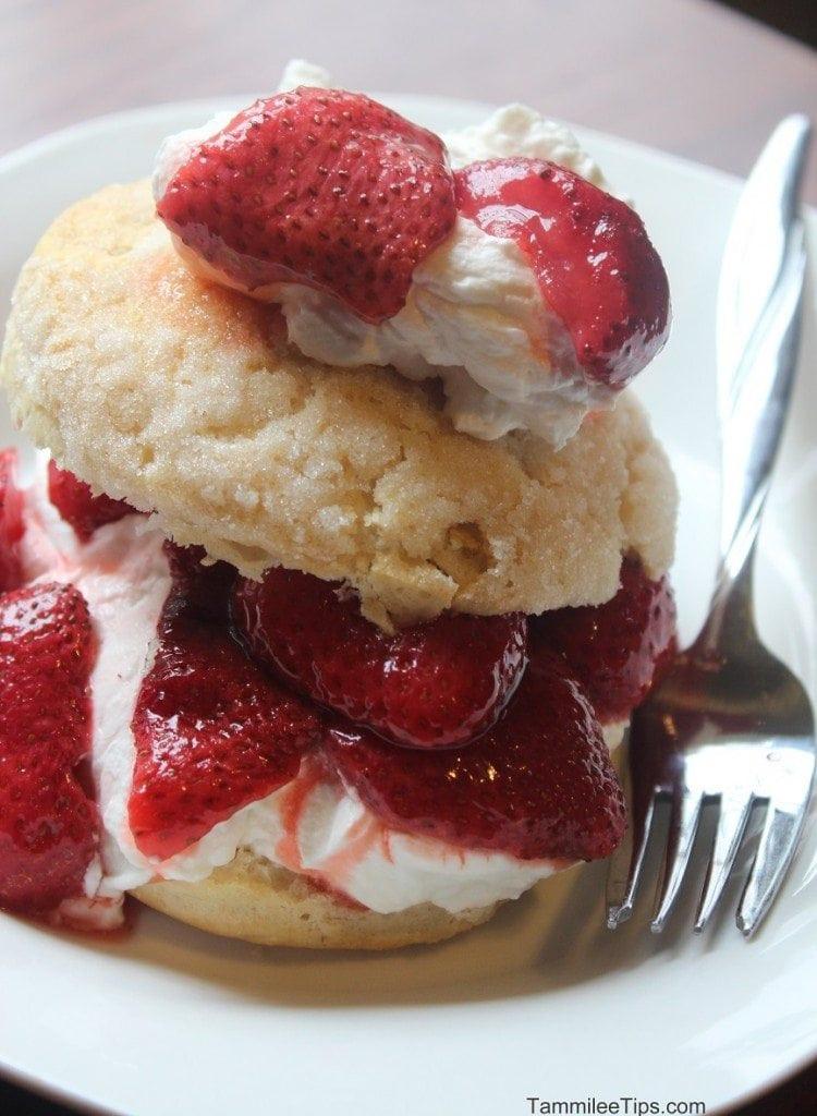 Recipe For Strawberry Shortcake  Super Easy Strawberry Shortcake Recipe