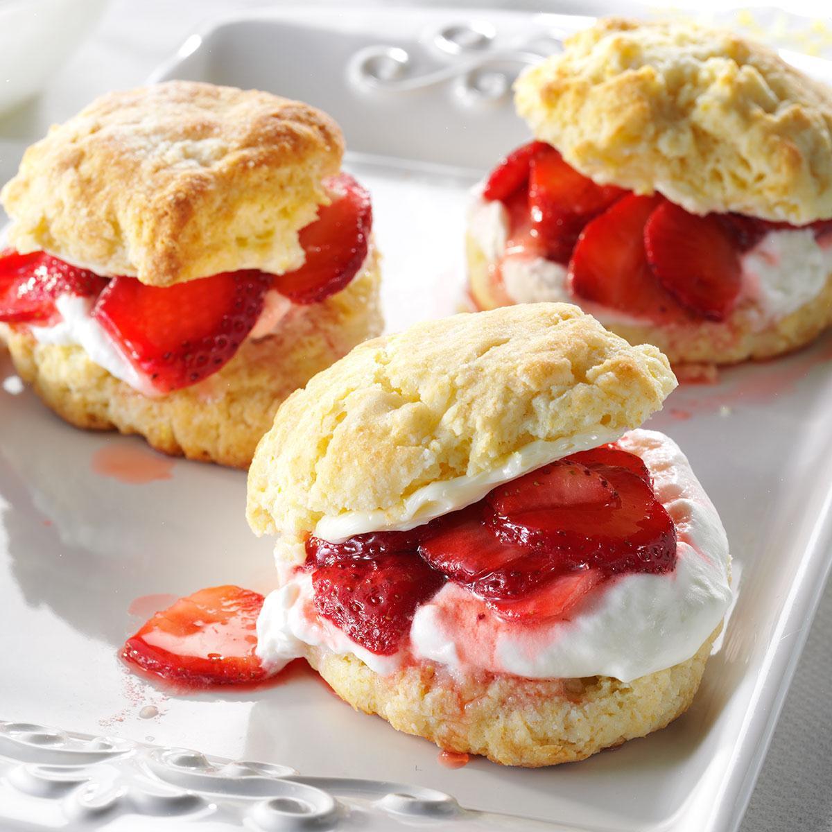 Recipe For Strawberry Shortcake  Strawberry Lemon Shortcake Recipe