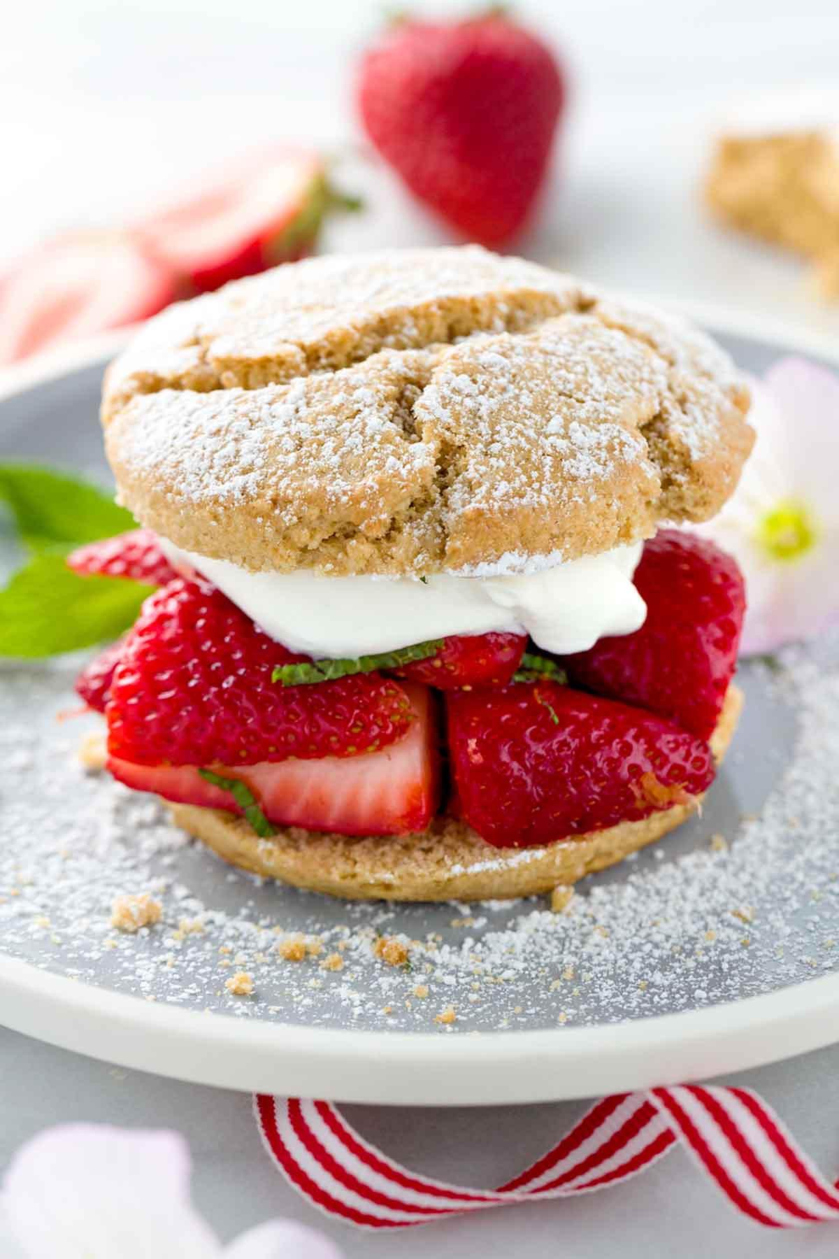 Recipe For Strawberry Shortcake  Strawberry Shortcake Recipe with Whipped Cream