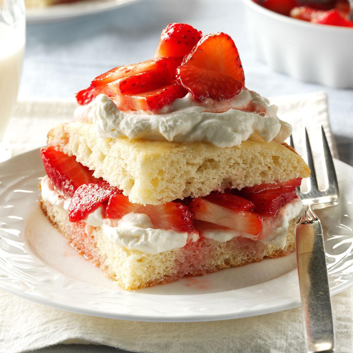 Recipe For Strawberry Shortcake  Strawberry Shortcake Recipe