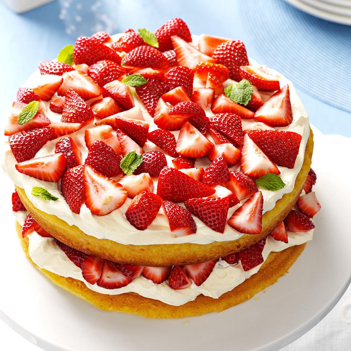 Recipe For Strawberry Shortcake  Deluxe Strawberry Shortcake Recipe