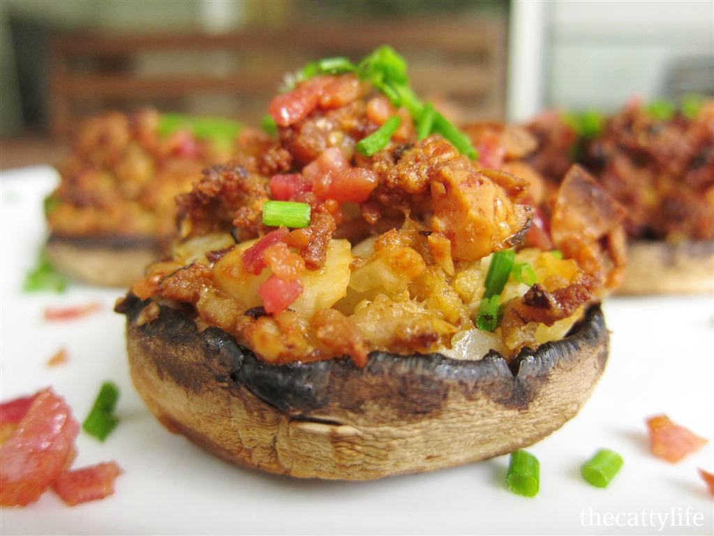 Recipe For Stuffed Mushrooms  recipe