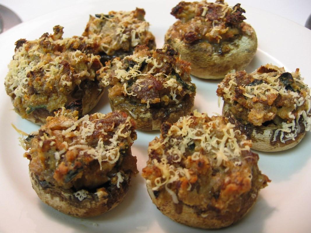 Recipe For Stuffed Mushrooms  Stuffed mushrooms en Kung Food