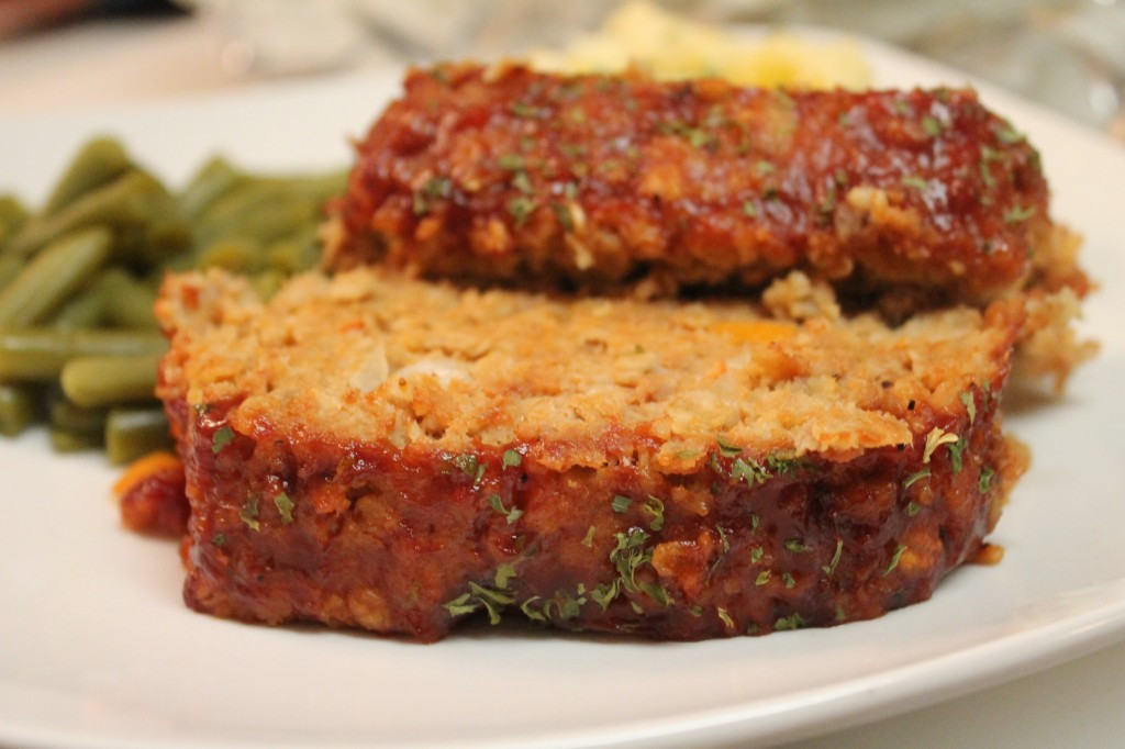Recipe For Turkey Meatloaf  turkey meatloaf with oatmeal