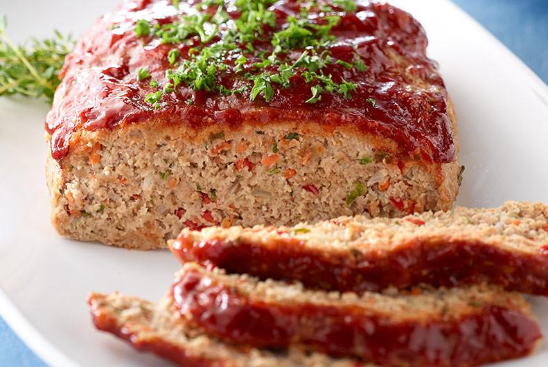 Recipe For Turkey Meatloaf  Easy Ground Turkey Meatloaf