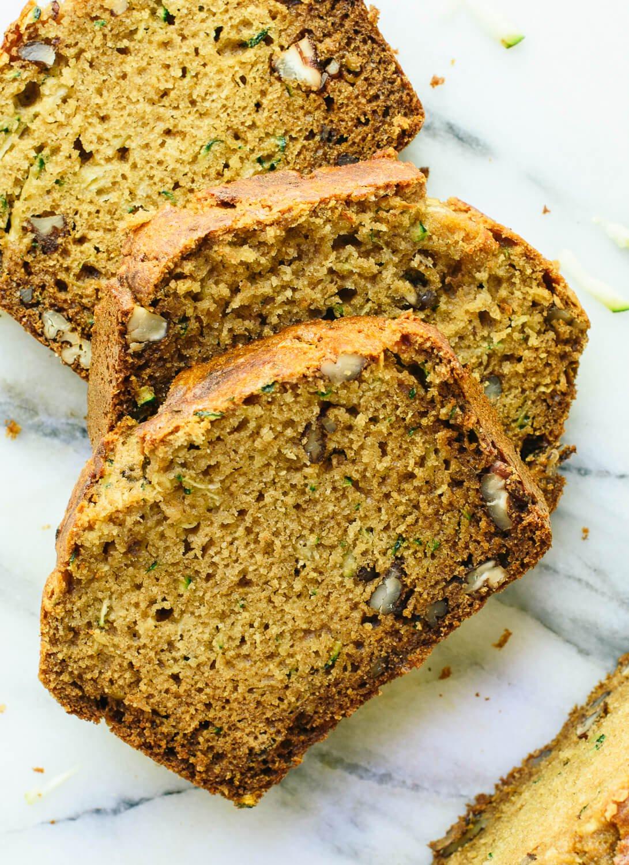 Recipe For Zucchini Bread  Healthy Zucchini Bread Recipe Cookie and Kate