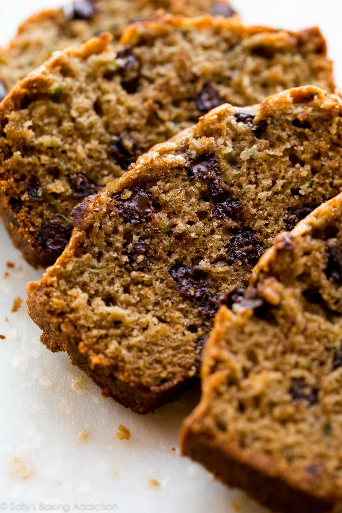 Recipe For Zucchini Bread  The Best Zucchini Bread