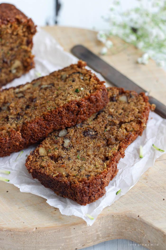 Recipe For Zucchini Bread  Zucchini Bread Love Grows Wild