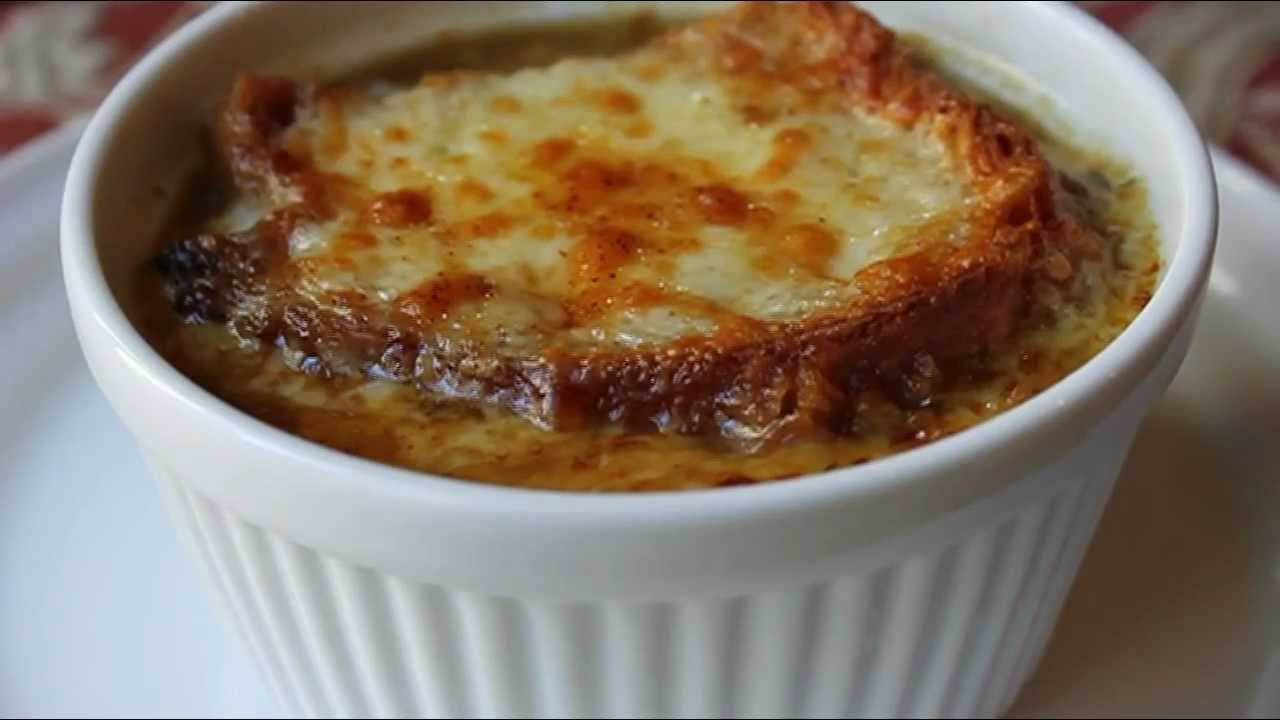 Recipe French Onion Soup  American French ion Soup Recipe How to Make ion Soup