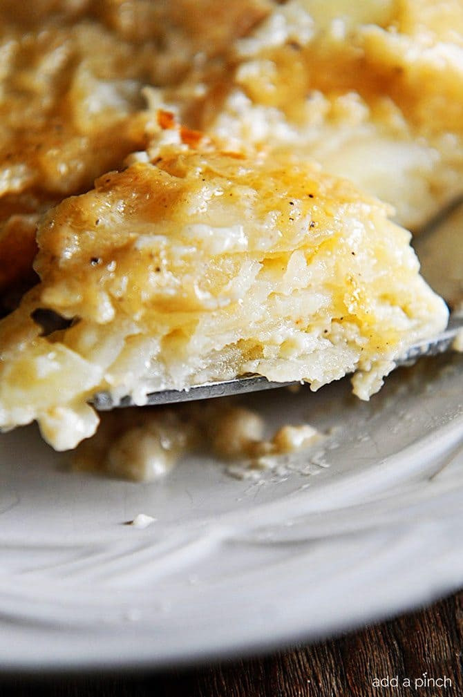 Recipe Scalloped Potatoes  Scalloped Potatoes Recipe Add a Pinch