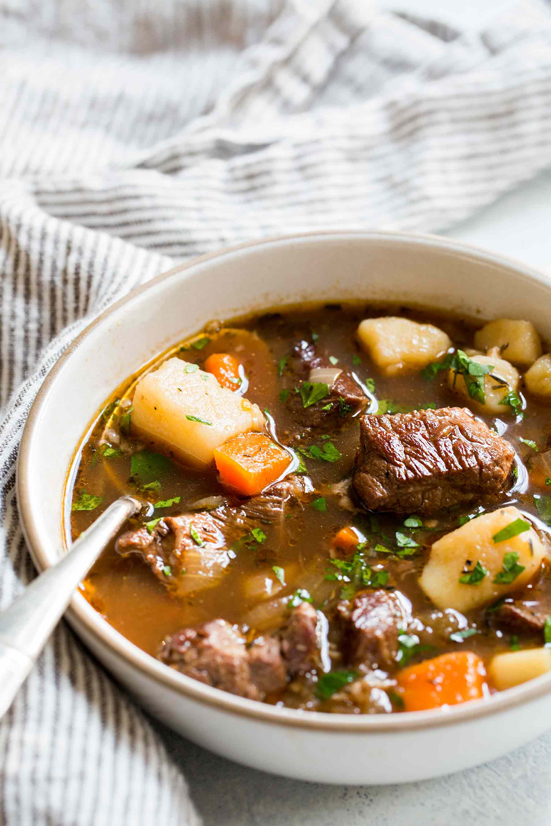 Recipes For Beef Stew  Irish Beef Stew Recipe with Video