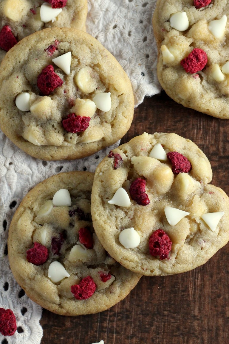 Recipes For Christmas Cookies  White Chocolate Raspberry Cookies Chocolate With Grace