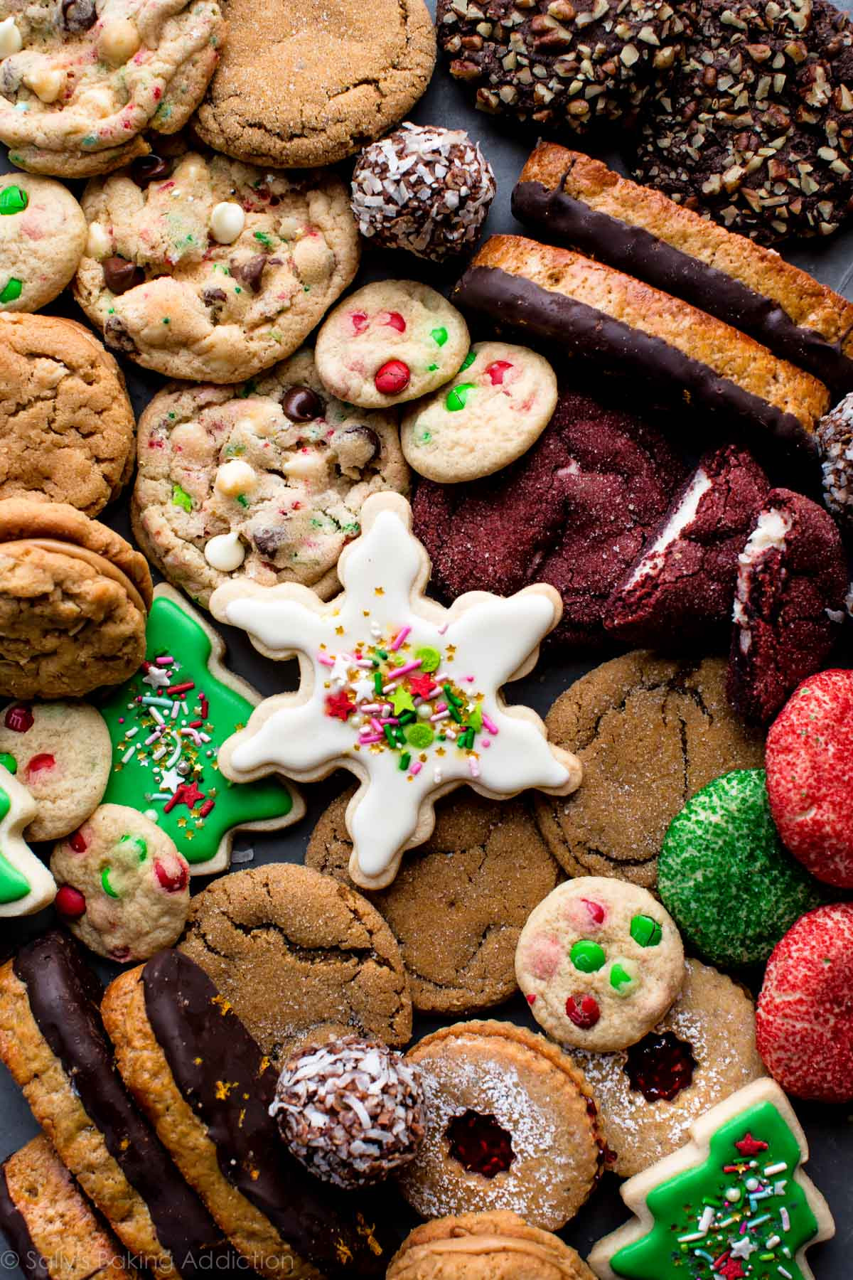 Recipes For Christmas Cookies  50 Christmas Cookie Recipes Sallys Baking Addiction