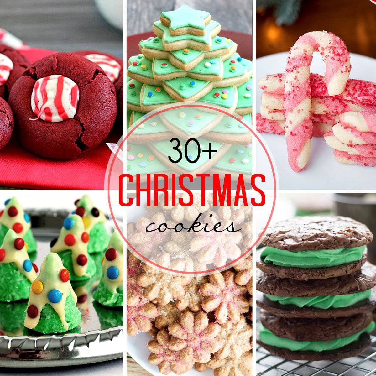 Recipes For Christmas Cookies  30 Plus Festive Christmas Cookie Recipes — Let s Dish Recipes