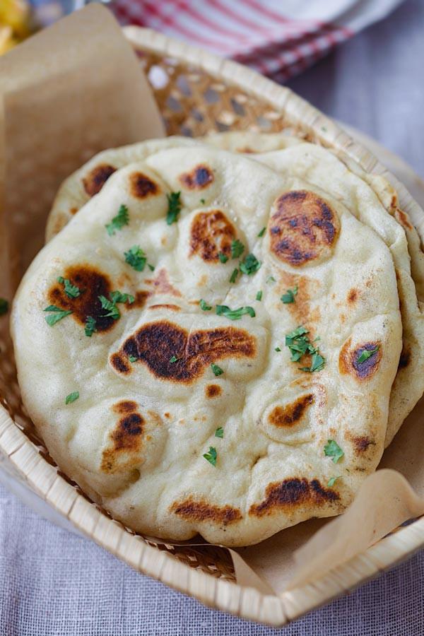 Recipes For Nan Bread  Homemade Naan