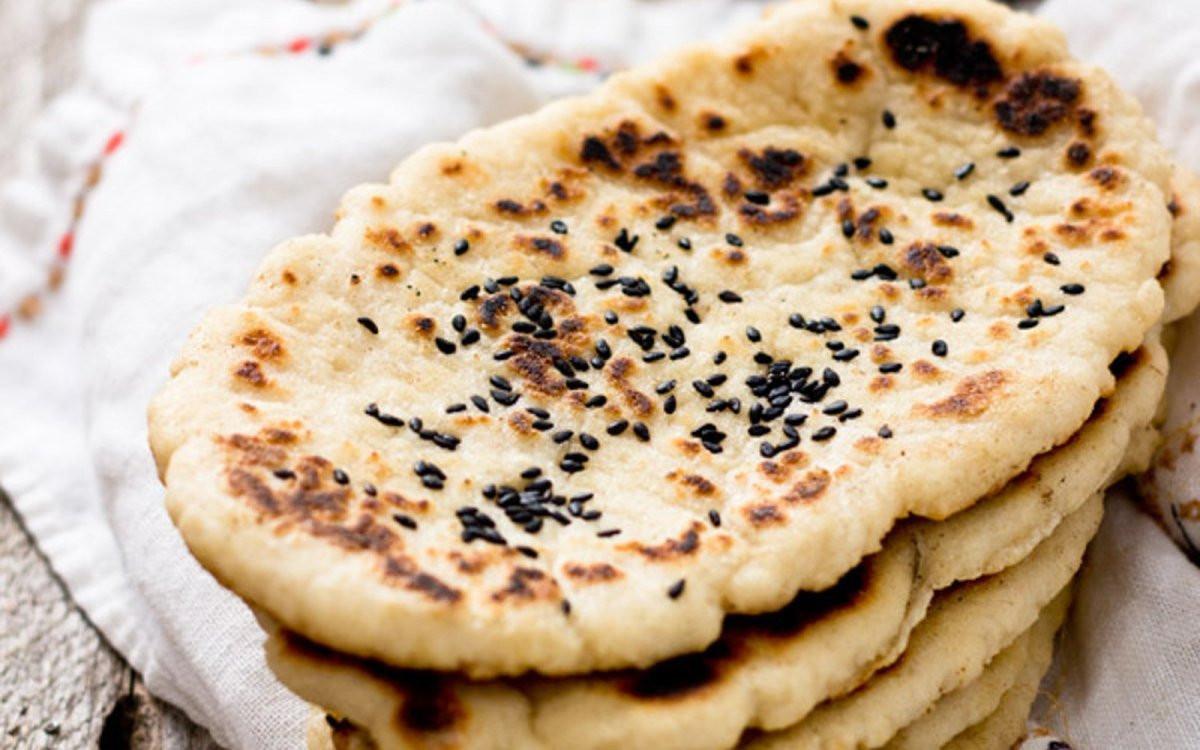 Recipes For Nan Bread  Naan Bread [Vegan Gluten Free] e Green Planet