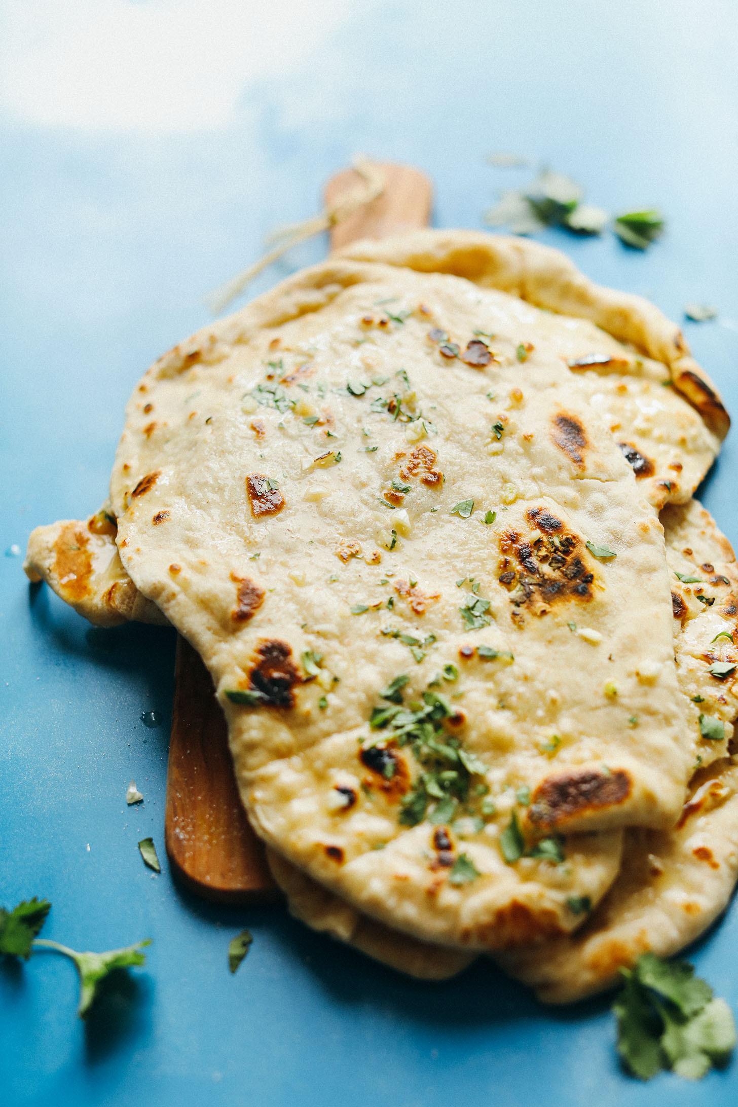 Recipes For Nan Bread  Easy Vegan Naan