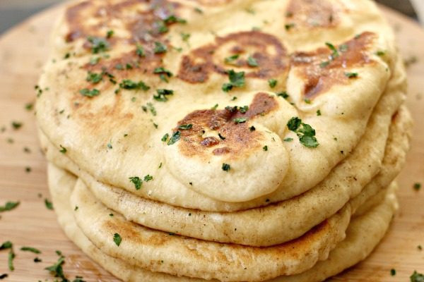 Recipes For Nan Bread  Homemade Naan Bread Clever Housewife