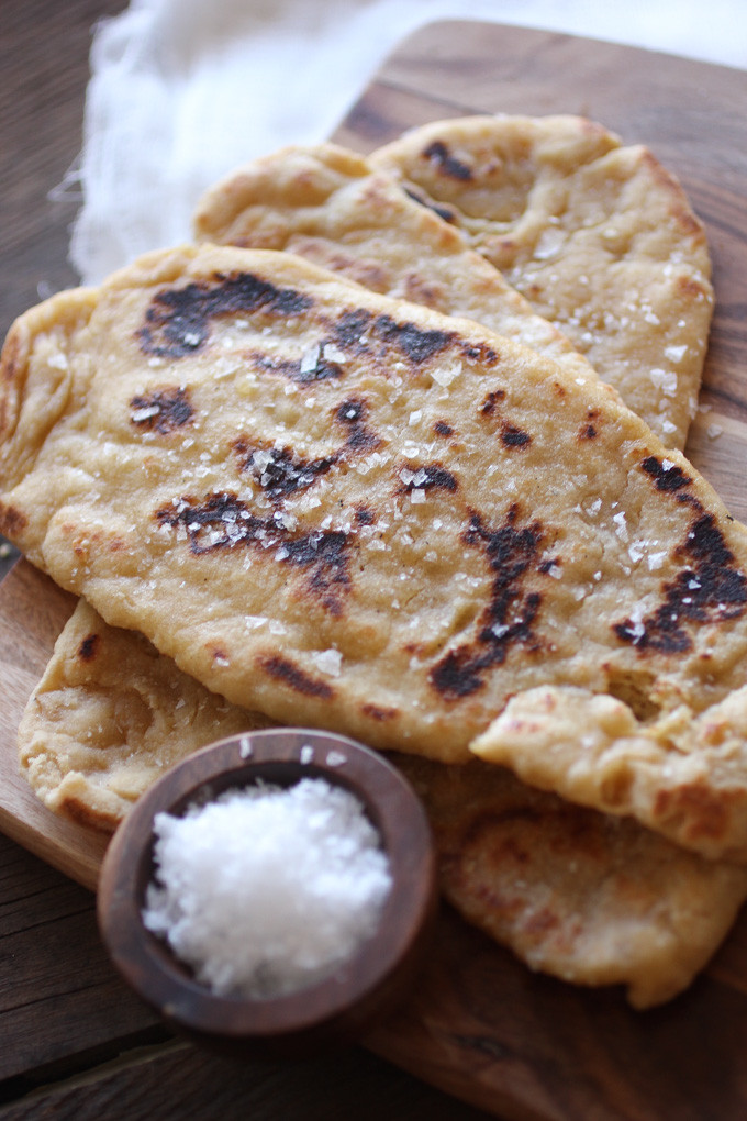 Recipes For Nan Bread  recipe easy wholewheat indian naan bread
