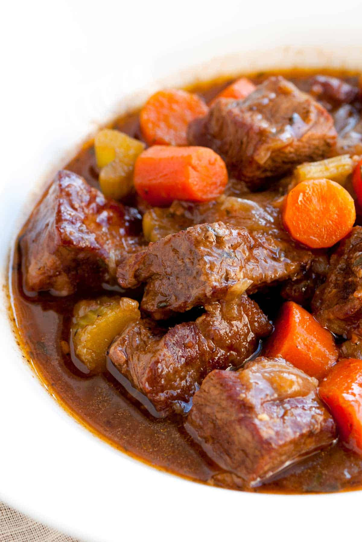 Recipes For Stew Meat  Irresistible Guinness Beef Stew Recipe with Carrots