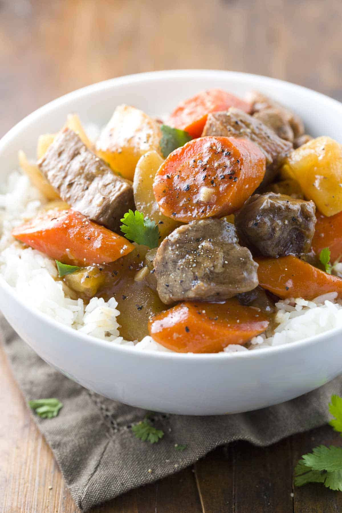 Recipes For Stew Meat  Grandma s Chinese Ginger Beef Stew Recipe