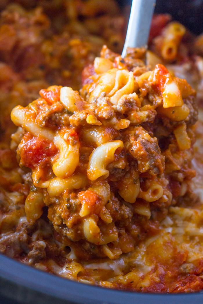 Recipes Using Ground Beef  crockpot ground beef recipes