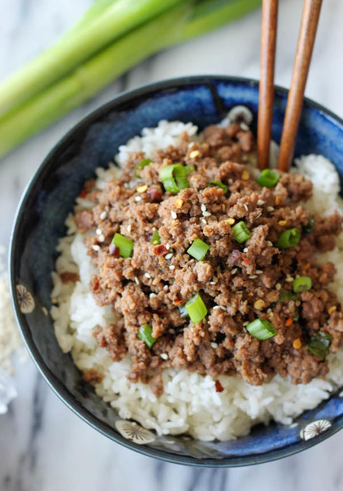 Recipes Using Ground Pork  20 Quick and Easy Meal and Snack Recipes Under 15 Minutes