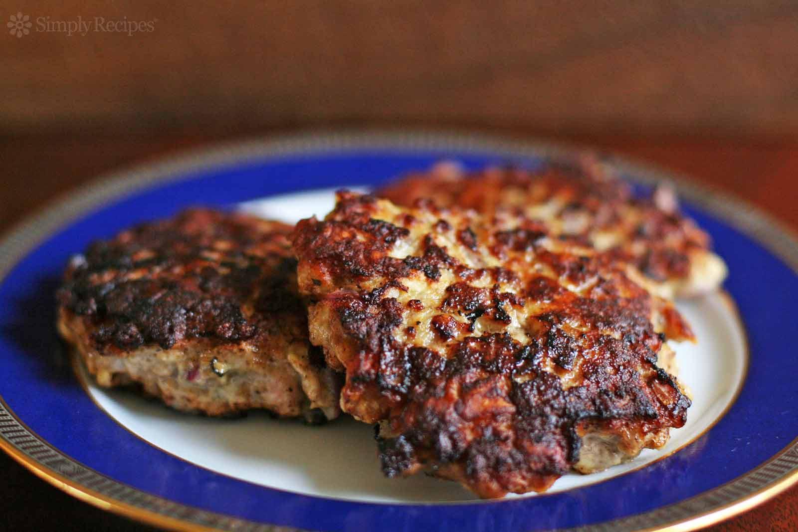 Recipes Using Ground Pork  Danish Pork Burgers Recipe