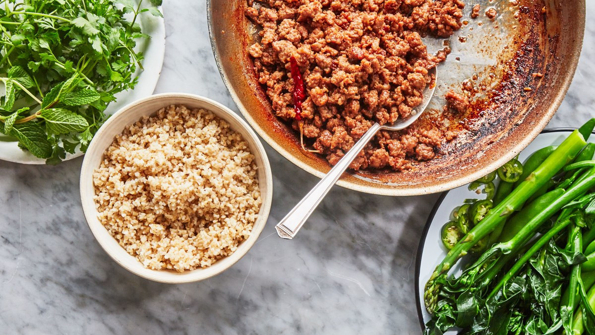 Recipes Using Ground Pork  Garlic Chile Ground Pork Recipe