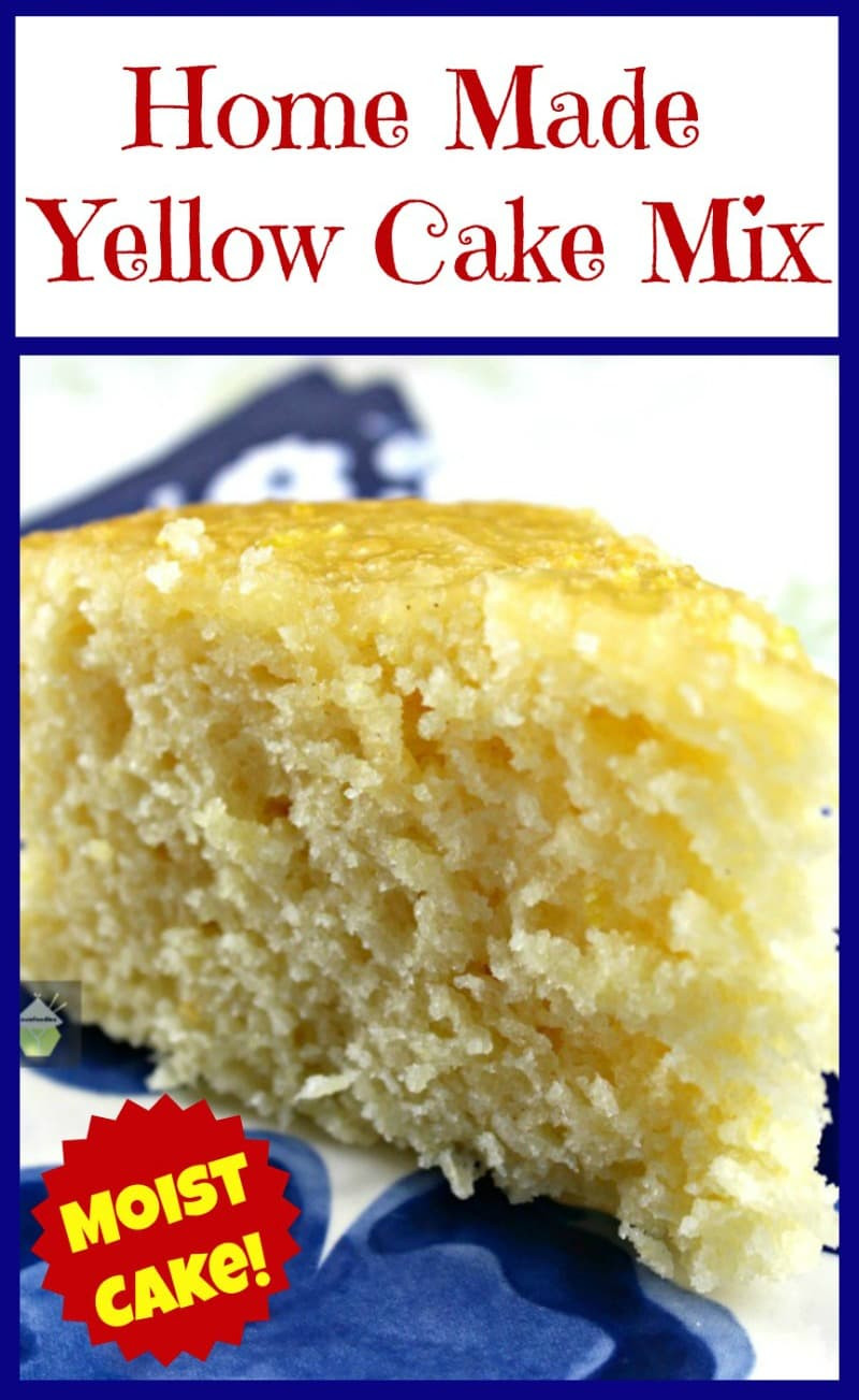 Recipes Using Yellow Cake Mix  Home Made Yellow Cake Mix