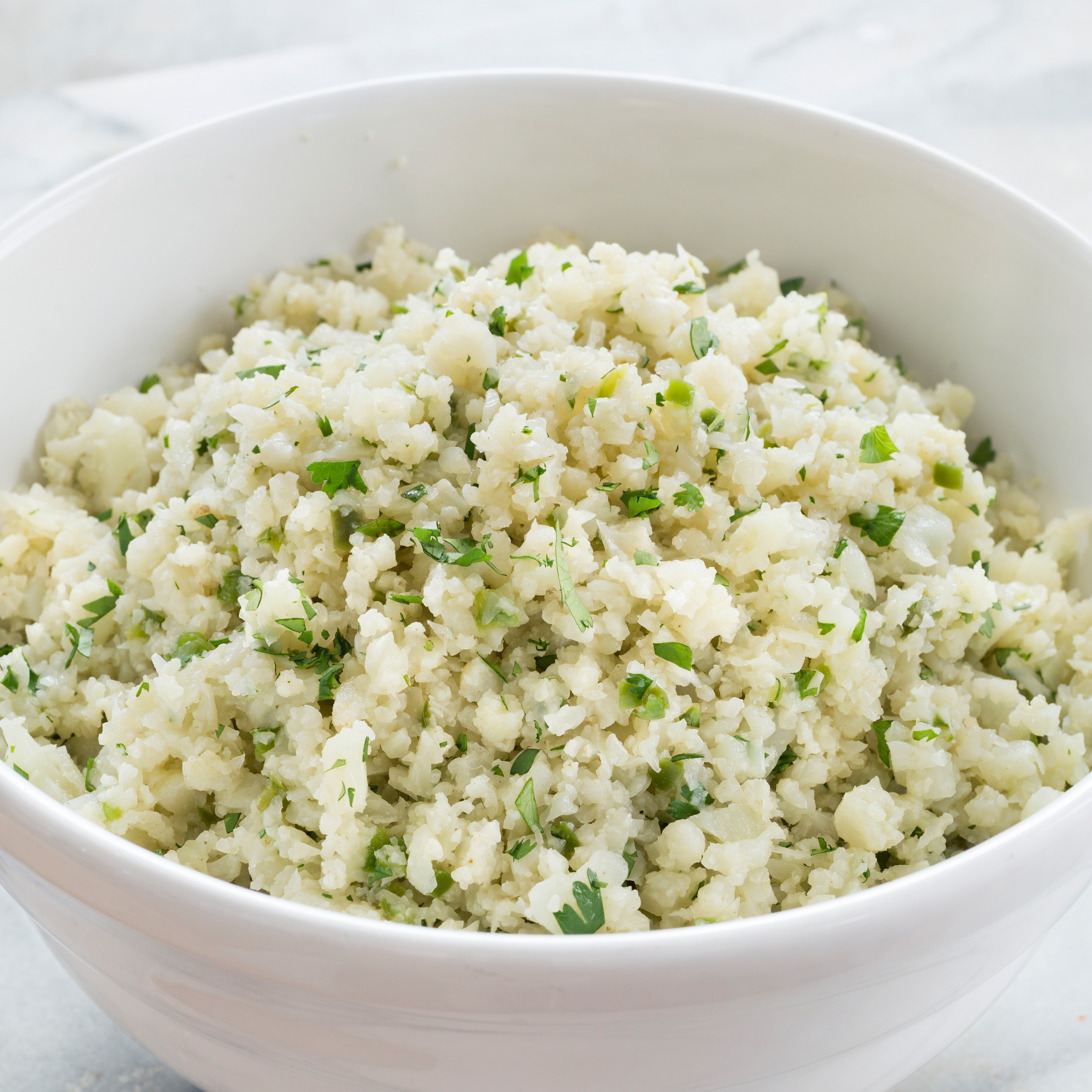 Recipes With Cauliflower Rice  Paleo Cauliflower Rice
