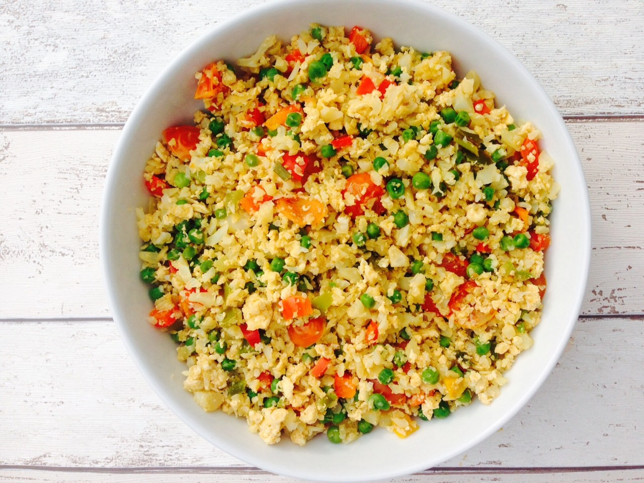 Recipes With Cauliflower Rice  Egg fried cauliflower rice recipe