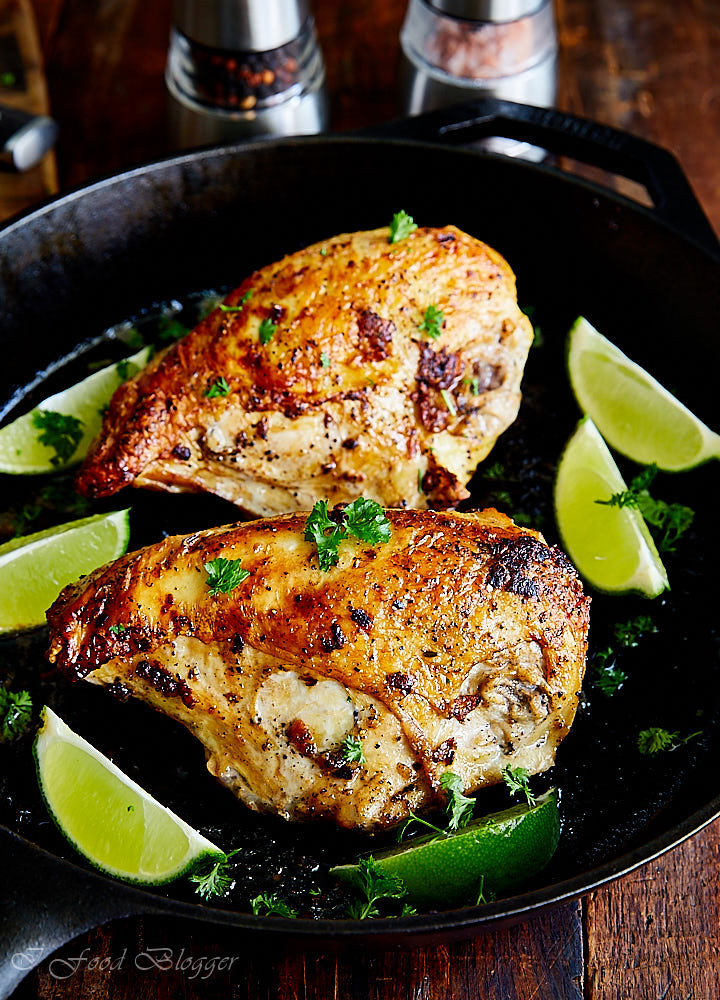 Recipes With Chicken Breasts  Pan Seared Oven Baked Chicken Breast Recipe i FOOD Blogger