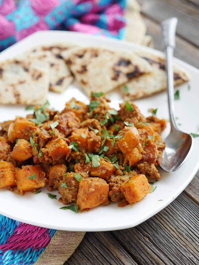 Recipes With Ground Beef And Potatoes  keema aloo ground beef and potatoes
