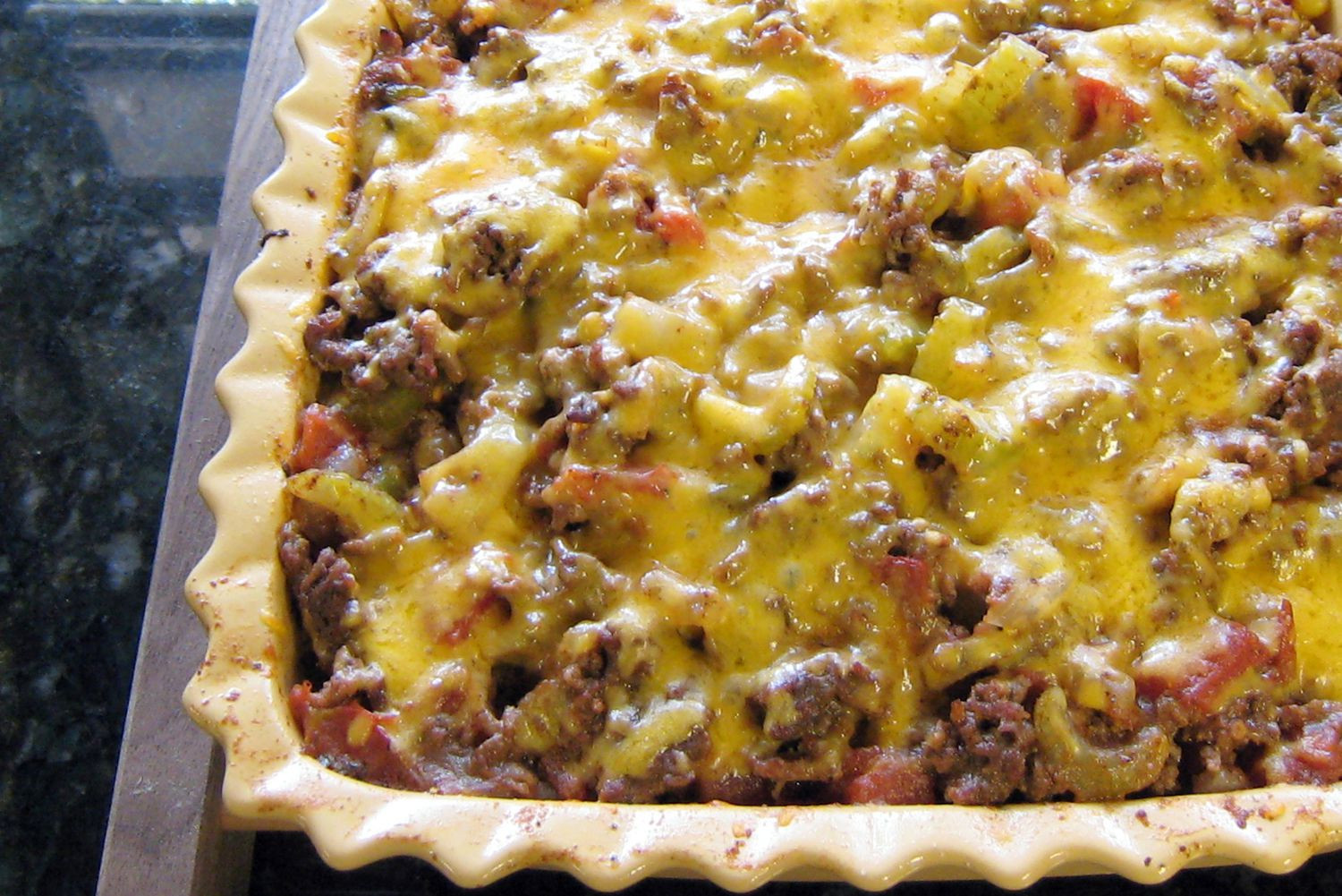 Recipes With Ground Beef And Potatoes  Southwestern Style Beef and Potato Casserole Recipe