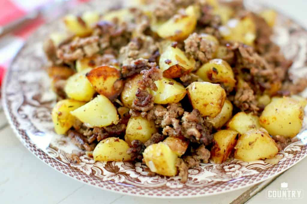 Recipes With Ground Beef And Potatoes  ground beef potato recipes