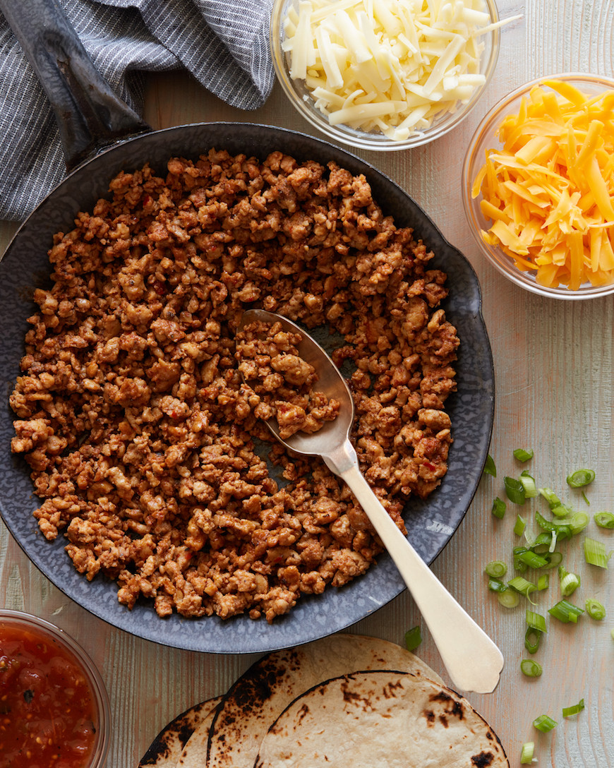 Recipes With Ground Chicken  Ground Chicken Tacos What s Gaby Cooking recipequicks
