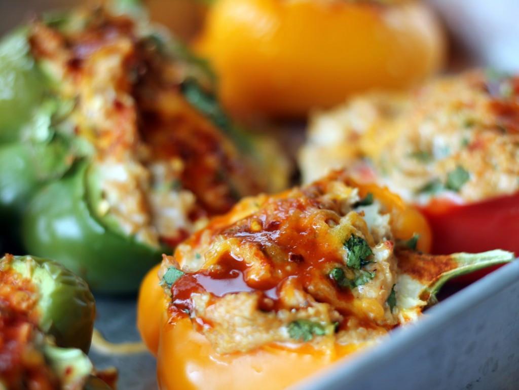 Recipes With Ground Chicken  ground chicken stuffed peppers