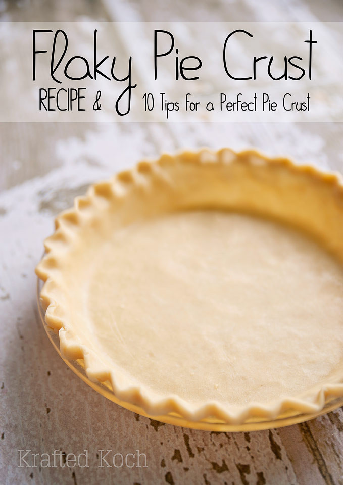 Recipes With Pie Crust  Flaky Pie Crust Recipe & 10 Tips for a Perfect Pie Crust