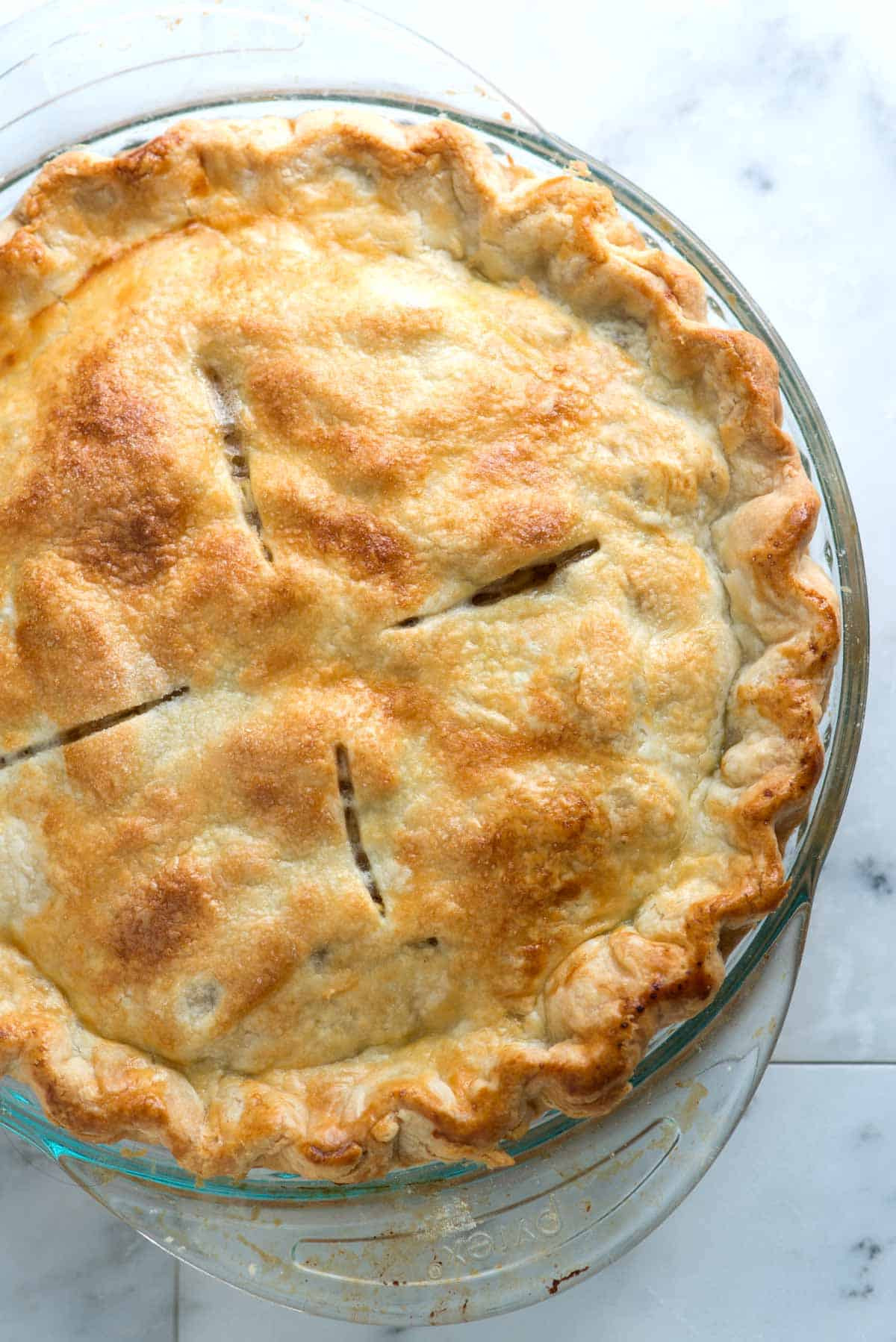 Recipes With Pie Crust  Easy All Butter Flaky Pie Crust Recipe